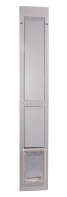 "Modular 96"" White Aluminum Patio Door — FREE SHIPPING!"
