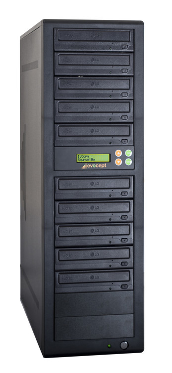 ECL1610P evocept CopyLink Professional DVD 10 Drive
