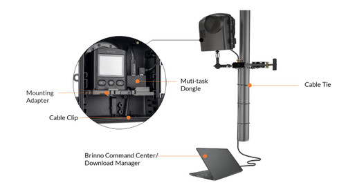 Brinno Camera Extender Kit for BCC2000 (BNAFB1000)