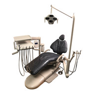 A-dec Refurbished 511 Dental Chair w/ A-dec 532 Radius Delivery, Assistant's Arm & LED Light