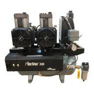 Air Techniques AirStar 30 Refurbished Newer Style Oil-less Compressor, Ref. AS30N