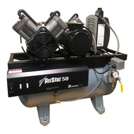 Air Techniques AirStar 50 Refurbished Newer Style Oil-less Compressor, Ref. AS50N