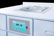 BrandMax 5.06 Gallon Recessed Ultrasonic Cleaner, U-20LHREC