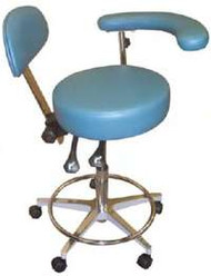 Galaxy Dental 1079-AD Assistant Stool