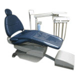 A-dec Refurbished Cascade 2122 Radius Package, with Plush Upholstery