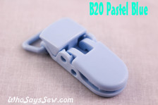 B20 KAM plastic resin dummy clips 2cm Who Says Sew