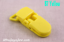 B7 KAM plastic resin dummy clips 2cm Who Says Sew