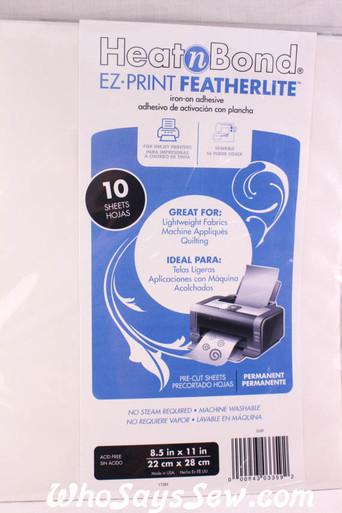 HeatNBond FEATHERLITE Iron-on Double-Sided Adhesive Sheets