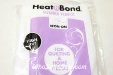 HEATN'BOND IRON-ON FUSIBLE FLEECE