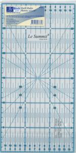 Quilt Ruler Metric 15CMx30CM