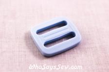KAM Plastic Tri-Glides in Pastel Blue 2cm