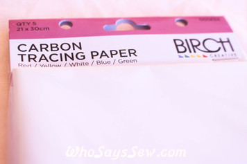 Carbon Tracing Paper - Pkt of 5 in 5 Colours