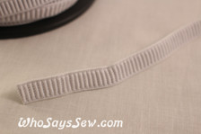 1.2cm  ribbed non-roll elastic