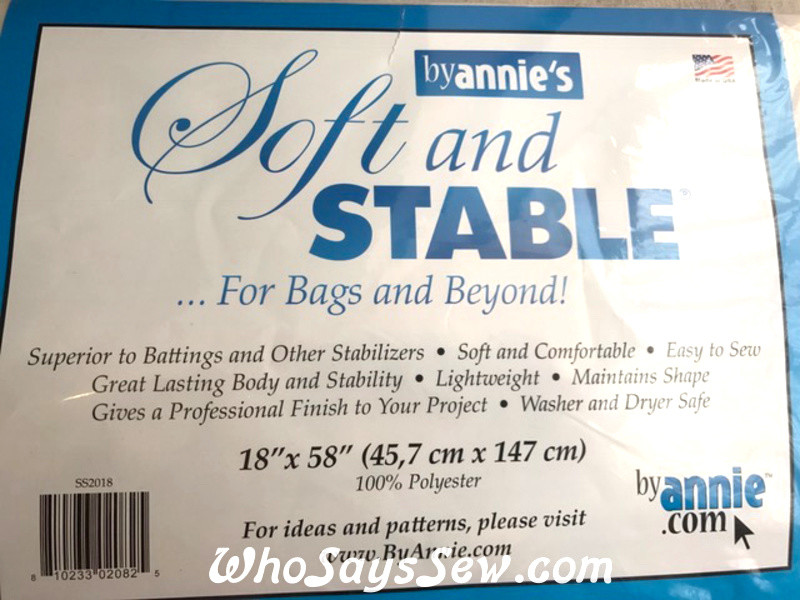 ByAnnie Soft n Stable Sew-In Foam Interfacing  18