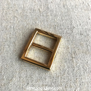 "2x 1.6CM (5/8"") REAL GOLD ALLOY CAST SLIDER(TRI-GLIDES)"