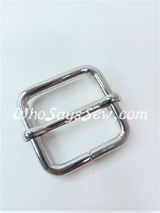 "2.5cm(1"") Thick Wire  Adjustable Strap Sliders in Silver Nickel. Tall 2.5cm(1"") Internal Height. Nickel Free"