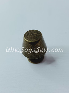 "*BULK 100 PCS* Antique Brass Medium 13mm/1.3cm/ 1/2"" Alloy Bucket Bag Feet. Brass Material. Screw Back. High Quality. Nickel Free."