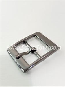 """4x Gunmetal 2cm/ 3/4"""" Pin Buckles. High Quality."""