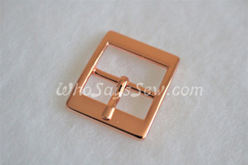 """4x Rose Gold 2cm/ 3/4"""" Pin Buckles. High Quality."""