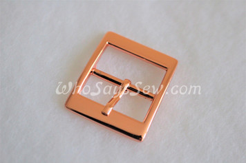 """4x Rose Gold 2.5cm/1"""" Pin Buckles. High Quality."""
