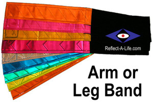 Vinyl Reflective Arm/Leg Band