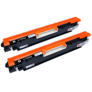 2 Go Inks Black Laser Toner Cartridges to replace HP CF350A Compatible / non-OEM for HP Colour & Pro Laserjet Printers