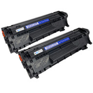 2 Go Inks Black Laser Toner Cartridges to replace HP Q2612A Compatible / non-OEM for HP Laserjet Printers