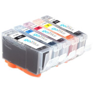1 Go Inks Compatible Set of 5 HP 364 XL Printer Ink Cartridges Compatible / non-OEM for HP Photosmart Printers (5 Inks)