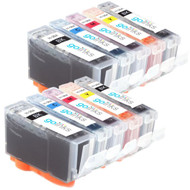2 Go Inks Compatible Sets of 5 HP 364 XL Printer Ink Cartridges Compatible / non-OEM for HP Photosmart Printers (10 Inks)