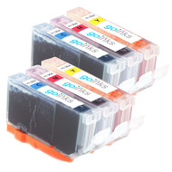 2 Go Inks Compatible C/M/Y Sets of 3 Colour HP 364 XL Printer Ink Cartridges Compatible / non-OEM for HP Photosmart Printers (6 Inks)