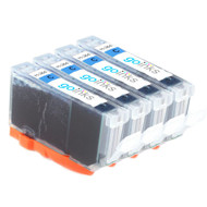 4 Go Inks Compatible Cyan HP 364 XL (HP364C) Printer Ink Cartridges Compatible / non-OEM for HP Photosmart Printers