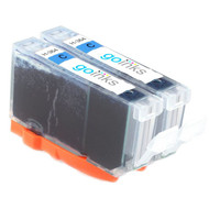 2 Go Inks Compatible Cyan HP 364 XL (HP364C) Printer Ink Cartridges Compatible / non-OEM for HP Photosmart Printers