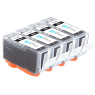 4 Go Inks Compatible Black HP 364 XL (HP364Bk) Printer Ink Cartridges Compatible / non-OEM for HP Photosmart Printers