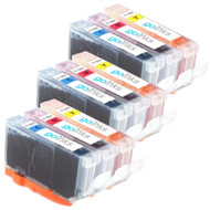 3 Go Inks Compatible C/M/Y Sets of 3 Colour HP 364 XL Printer Ink Cartridges Compatible / non-OEM for HP Photosmart Printers (9 Inks)