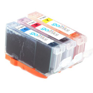 1 Go Inks Compatible C/M/Y Set of 3 Colour HP 364 XL Printer Ink Cartridges Compatible / non-OEM for HP Photosmart Printers (3 Inks)