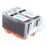 2 Go Inks Compatible Black HP 364 XL (HP364Bk) Printer Ink Cartridges Compatible / non-OEM for HP Photosmart Printers