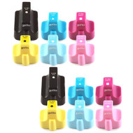 2 Go Inks Compatible Set of 6 to replace HP 363 Printer Ink Cartridge - Black, Cyan,  Magenta, Yellow, Light Cyan, Light Magenta Compatible / non-OEM for HP Photosmart Printers