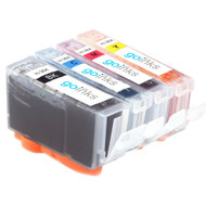 1 Go Inks Compatible Set of 4 HP 364 XL Printer Ink Cartridges Compatible / non-OEM for HP Photosmart Printers (4 Inks)