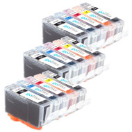 3 Go Inks Compatible Sets of 5 HP 364 XL Printer Ink Cartridges Compatible / non-OEM for HP Photosmart Printers