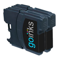 2 Go Inks Black Ink Cartridges to replace Brother LC985Bk Compatible / non-OEM for Brother DCP & MFC  Printers