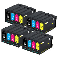 4 Go Inks Set of 4 Ink Cartridges to replace Canon PGI-1500XL Compatible / non-OEM for PIXMA Printers (16 Pack)
