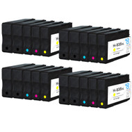 4 Go Inks Compatible Set of 4 + Extra Black to replace HP 934 & 935 Printer Ink Cartridge (20 Inks) - Black, Cyan,  Magenta, Yellow Compatible / non-OEM for HP Photosmart Printers