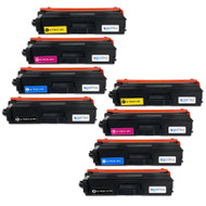 2 Go Inks Set of 4 Laser Toner Cartridges to replace Brother TN423 Compatible / non-OEM for Brother DCP, MFC & HL Printers