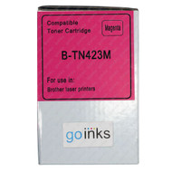 1 Go Inks Magenta Laser Toner Cartridge to replace Brother TN423M Compatible / non-OEM for Brother DCP, MFC & HL Printers