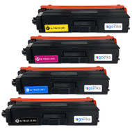 1 Go Inks Set of 4 Laser Toner Cartridges to replace Brother TN423 Compatible / non-OEM for Brother DCP, MFC & HL Printers