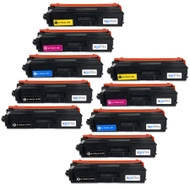2 Go Inks Set of 4 + extra Black Laser Toner Cartridges to replace Brother TN423 Compatible / non-OEM for Brother DCP, MFC & HL Printers