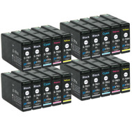 4 Go Inks Set of 4 + extra Black Ink Cartridges to replace Epson T7906+7901 (79XL Series) Compatible / non-OEM for Epson WorkForce Pro Printers (20 Inks)