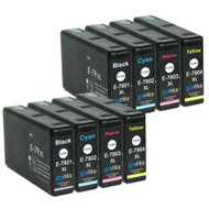 2 Go Inks Set of 4 Ink Cartridges to replace Epson T7906 (79XL Series) Compatible / non-OEM for Epson WorkForce Pro Printers (8 Inks)