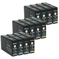 3 Go Inks Set of 4 Ink Cartridges to replace Epson T7906 (79XL Series) Compatible / non-OEM for Epson WorkForce Pro Printers  (12 Inks)