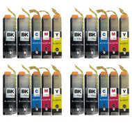 4 Go Inks Compatible Set of 4 + Extra Black to replace Brother LC3211 Compatible / non-OEM for Brother DCP & MFC Printers (20 Inks)